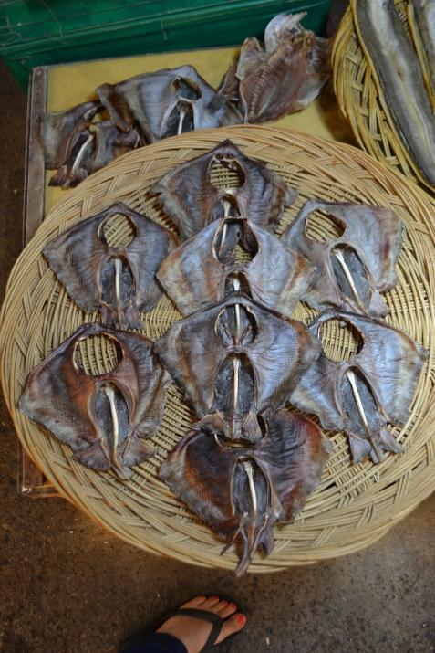 Dried Sting Rays